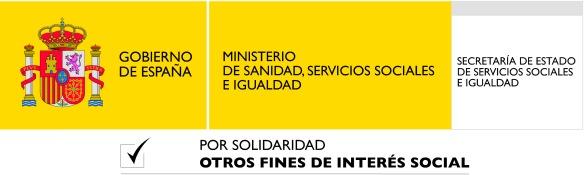 Logotipo Ministerio de Sanidad, Servicios Sociales e Igualdad