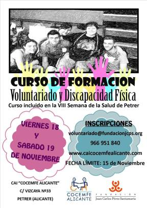 Curso de Voluntariado 2016